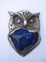 zilveren uil met lapis lazuli.jpg